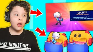 *wow* AM PRIMIT COLETTE IN MEGA BOX OPENING pe BRAWL STARS !!