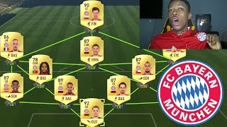 FULL BAYERN TEAM !!! FIFA 17