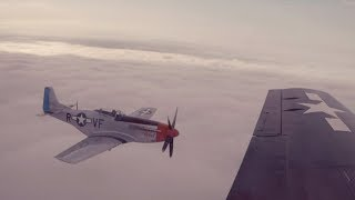 P-51 Mustangs over AirVenture! Humble Pilots Keeping their Flight Chops Sharp - Flight VLOG