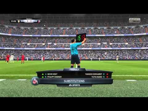 TFF Football League Match Day Six - Real Madrid vs. FC Koln