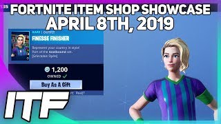 Fortnite Item Shop SOCCER SKINS ARE BACK! [April 8th, 2019] (Fortnite Battle Royale)