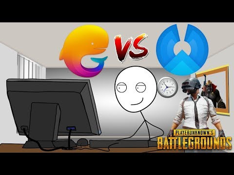 When Low End Gamers Play PUBG mobile In Tencent Gaming Buddy And Phoenix OS