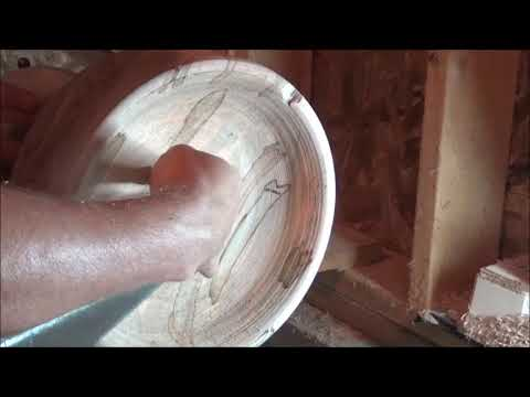 DIY - How to Make a Bowl  out of Ambrosia Maple