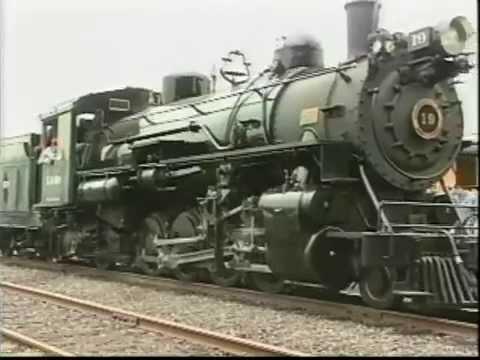 Restoration of Sumpter Valley Steam Engine (Cushman)