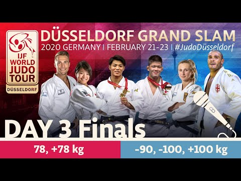 Düsseldorf Grand Slam 2020 - Day 3: Finals