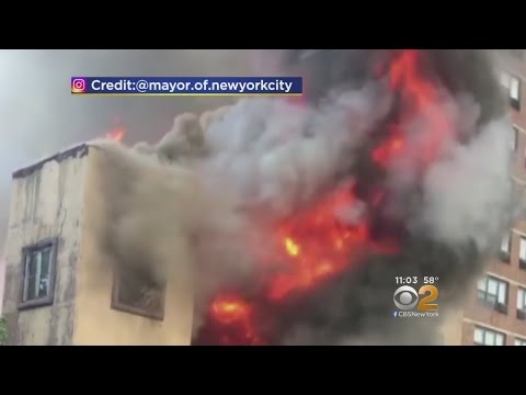 Fire Rips Through Vacant LES Synagogue