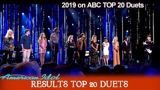 RESULTS Who Made It To Top 14? Who are Eliminated? Part 1 |American Idol 2019 TOP 20 Celebrity Duets