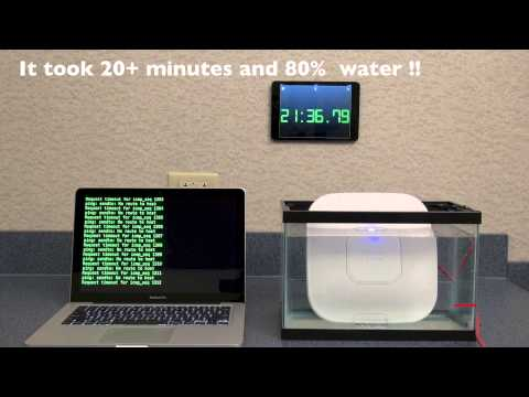 How Much Water Abuse Can a Cisco AP Take?