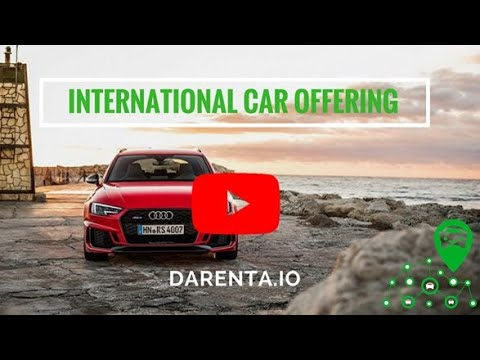 ICO Darenta - Using the blockchain for P2P car hire