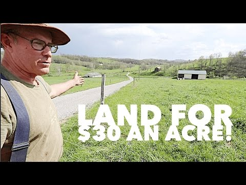 How Joel Salatin Buys Land For $30 An Acre