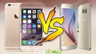 samsung galaxy s6 edge vs iphone 6 la batalla