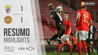 Highlights | Resumo: Benfica 1-1 CD Nacional (Liga 20/21 #15)