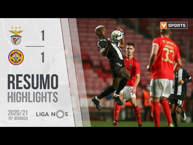 Highlights | Resumo: Benfica 1-1 CD Nacional (Liga 20/21 #15)
