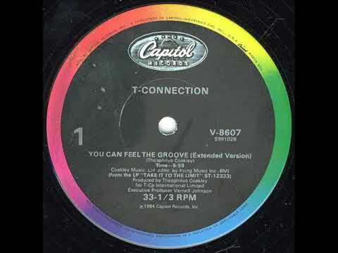 T Connection - You Can Feel The Groove (extended version)