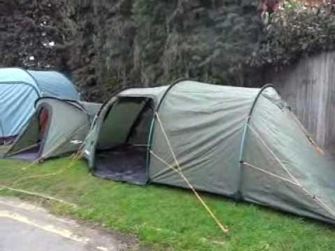 & Vango Omega 350 Backpacking Tent - YouTube