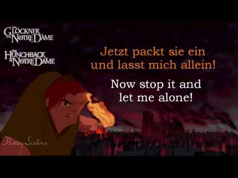 The Hunchback of Notre Dame (Musical) - Made of Stone (German & English) HIGHER PITCH!