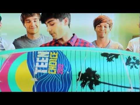 One Direction Teen Choice Awards 2012 HD