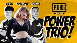 MVP iSHOTz Plays w/ BiuBiu & Kimi Hime for a Steaming Chicken Dinner | PUBG Mobile