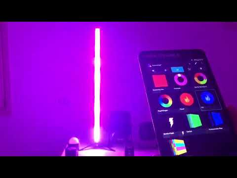 Astera fari Led a batteria spiegazione del funzionamento App e uso Tablet