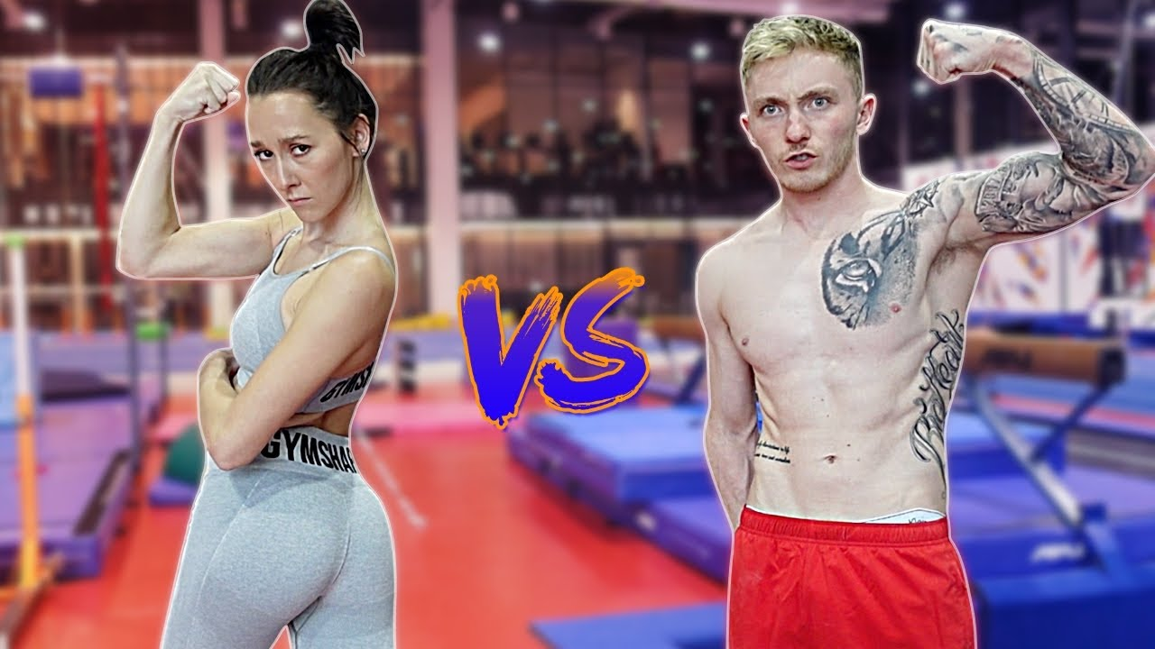 Boyfriend VS Girlfriend 'Gymnastics Challenge' | Nile Wilson & Emily McCarthy