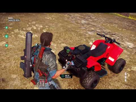 Just Cause 3 how to get the nuclear bomb car