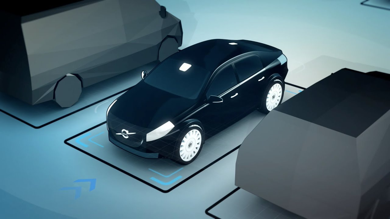 Volvo Autonomous Parking Concept - Animation