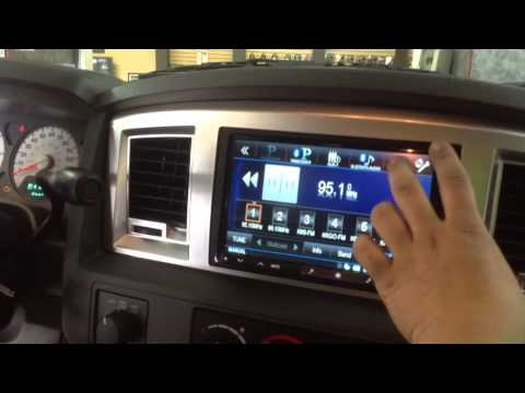 Alpine Ine Z928hd With Amp Power Steps Installed In A