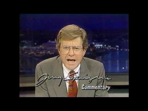 1990 News 5 Cincinnati Broadcast September 21 1990 (Jerry Springer)