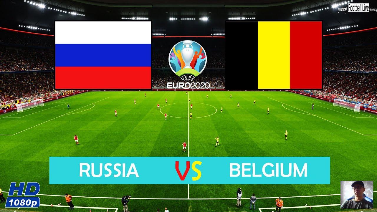 World Cup 2020 Belgium Vs Japan.Pes 2020 Russia Vs Belgium Euro 2020 Hazard And Lukaku Scored Goals Gameplay Pc