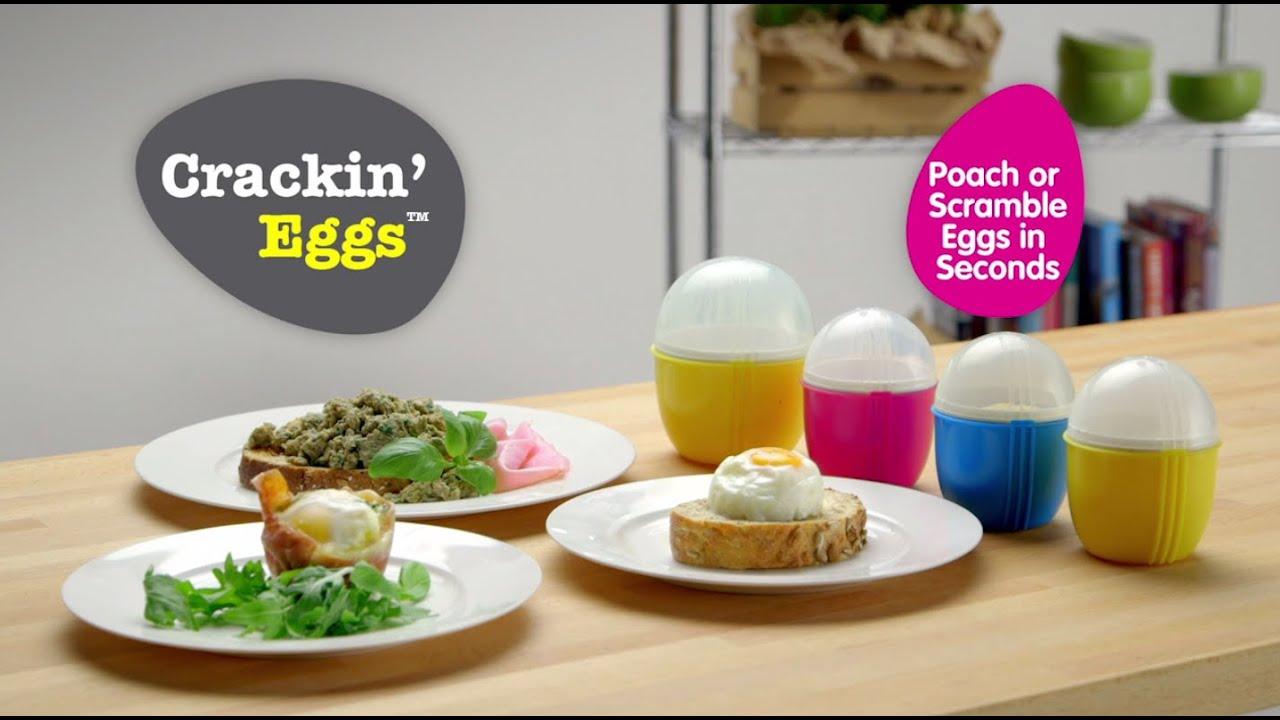 crackin eggs microwave egg cooker
