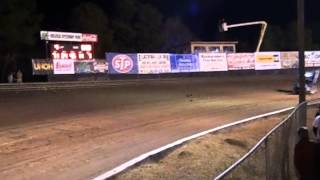 World of Outlaws DIRTCar Nationals Volusia Speedway Park 2013