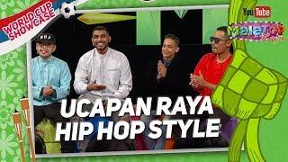Download Waris, Airliftz, Kidd Santhe & Lil J bagi ucapan Raya hip hop style   MeleTOP Raya World Cup Mp3
