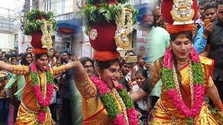 Nisha kranthi bonam dance at Secunderabad bonalu 2018