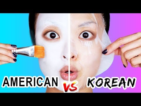 American VS Korean Skincare (WHO WINS?)