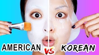 American VS Korean Skincare (WHO WINS?)