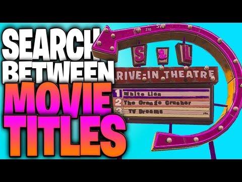 """Search Between Movie Titles"" - Week 10 Hidden Star Challenge Guide (Movie Titles Star)"