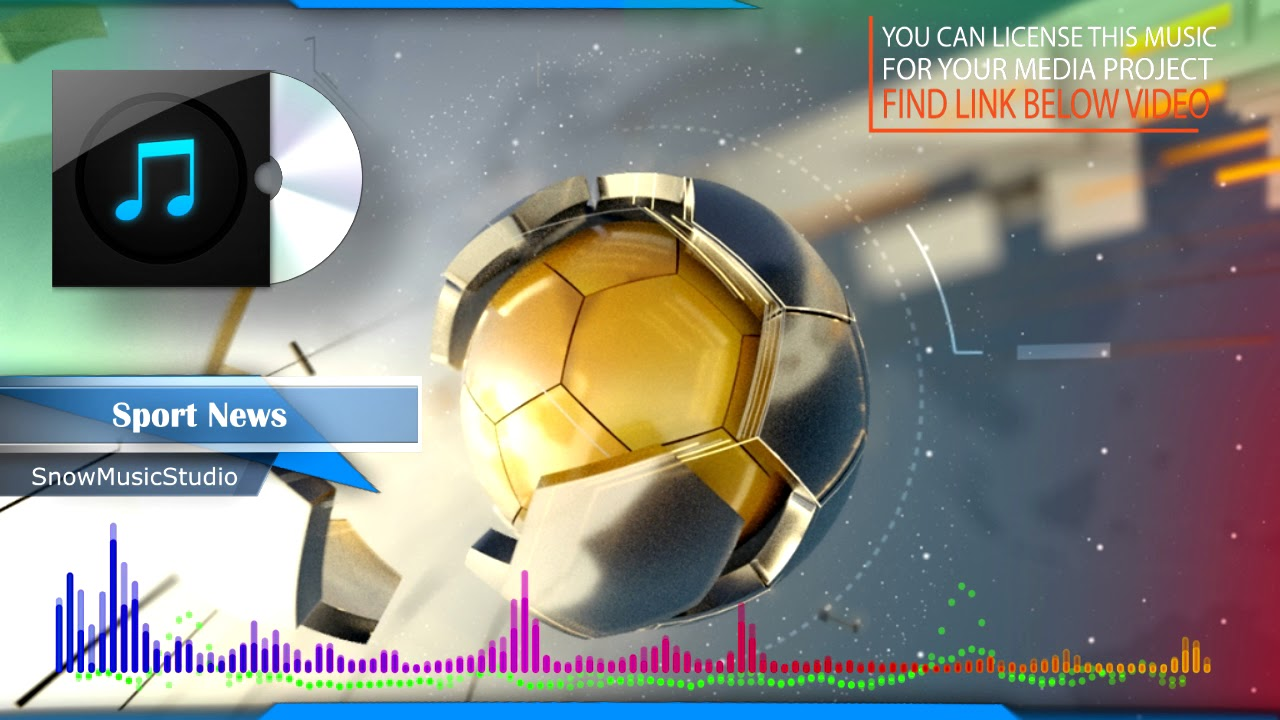 Sport News - Sport news background music theme / Royalty-free music/