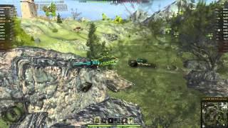 World of Tanks FV215b 183 Перевал, 5 фрагов  13344 дамага! Затащил