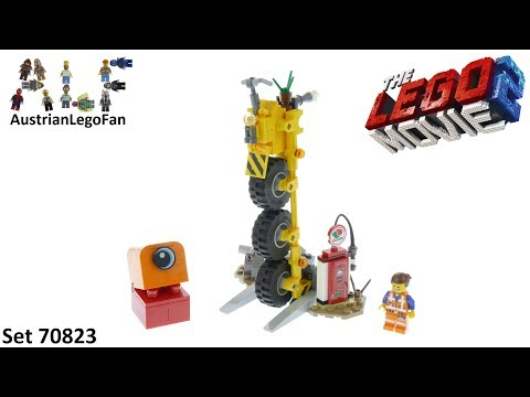 Lego Movie 2 70823 Emmet´s Thricycle! - Lego Speed Build Review