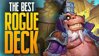 The BEST Rogue Deck?!   Saviors of Uldum   Hearthstone