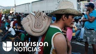 Gobierno mexicano y sector empresarial ofrecen 10,000 puestos de trabajo a migrantes de la caravana