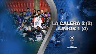 Unión La Calera vs. Júnior [2-1] (2-4) | RESUMEN | Octavos de Final | CONMEBOL Sudamericana
