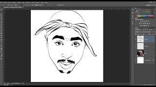 Como Fazer Carton Com PhotoShop Transformar Imagem Em Desenho