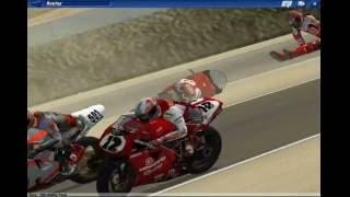 Superbike 2001 Crash Compilation
