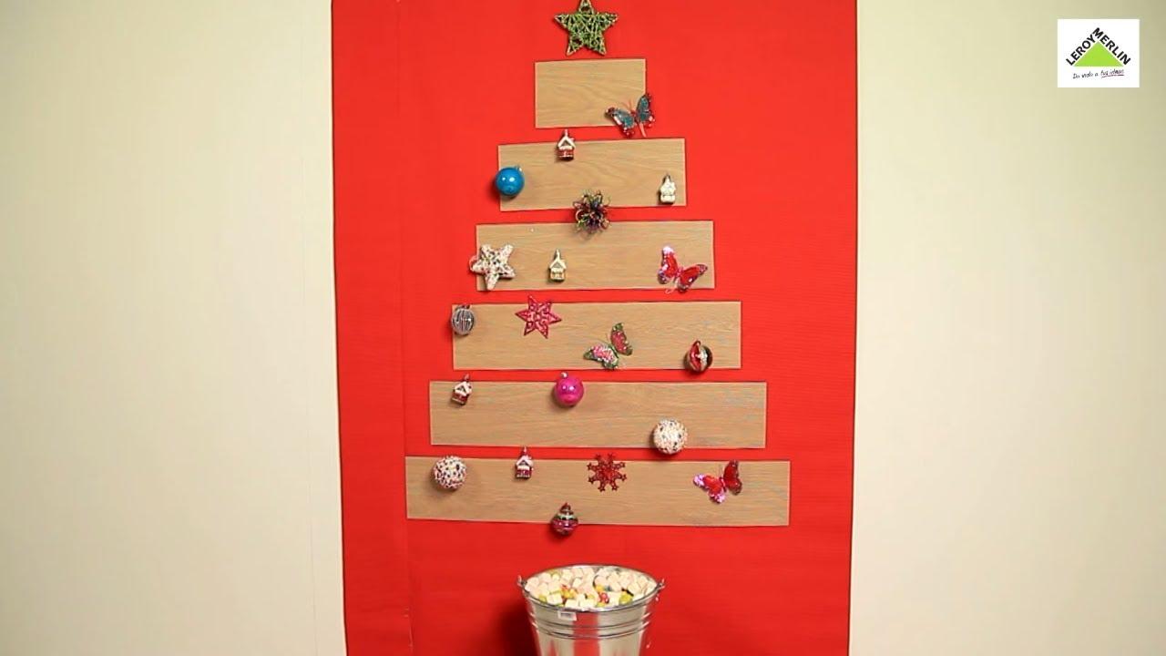 cmo hacer un rbol de navidad con madera leroy merlin diy - Arbol De Navidad De Madera