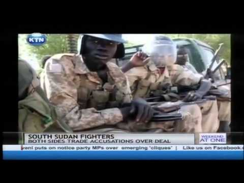 South Sudan Ceasefire violation