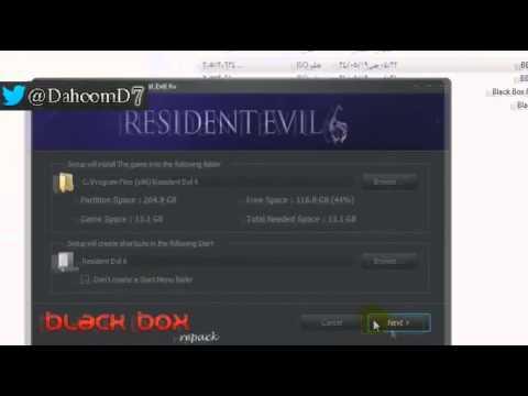 طريقة تحميل وتثبيت لعبة Resident Evil 6