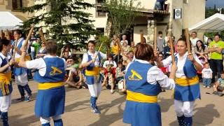 Ball de bastons. Fira de St Ponç. Cànoves. 10-5-14 (Video 3)