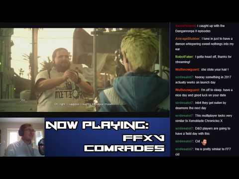 Let's Stream Final Fantasy XV: Comrades (Part 6 - Descent into Darkness)