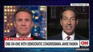 CNN - Rep. Raskin Defends Camp David